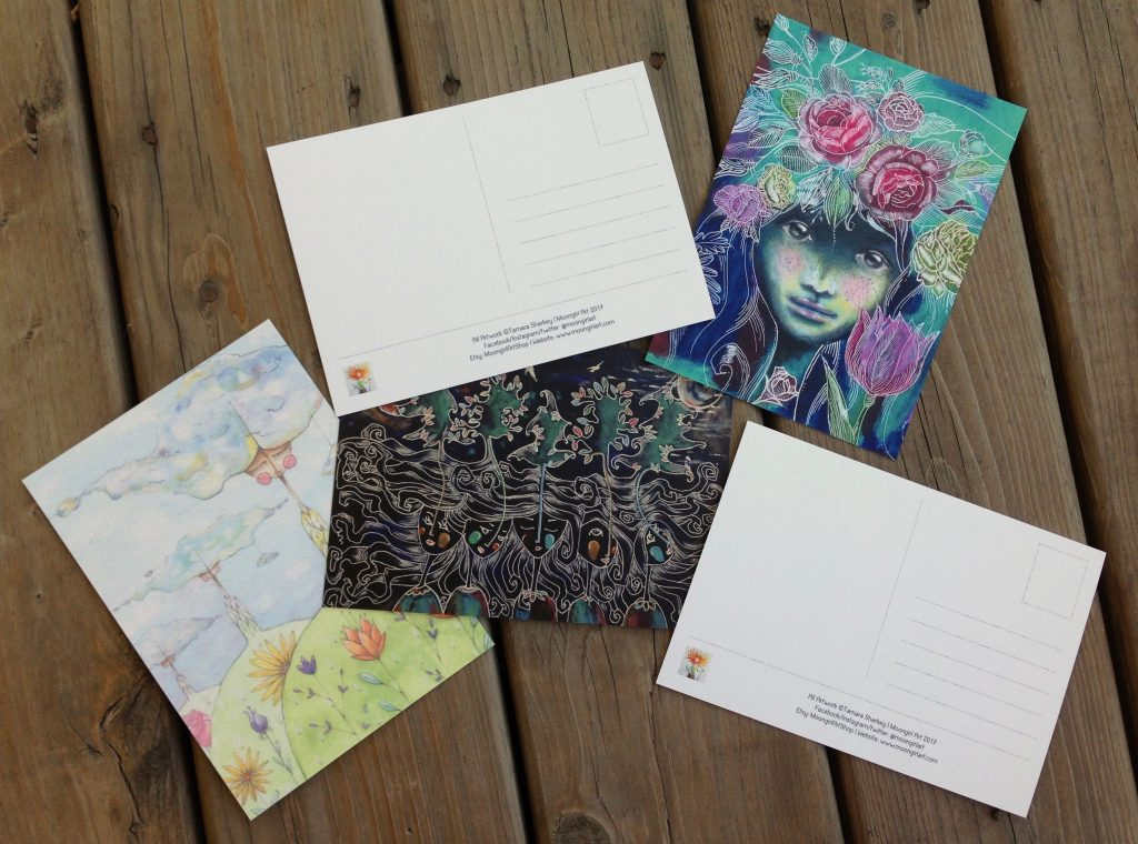 Art Postcards Set 1