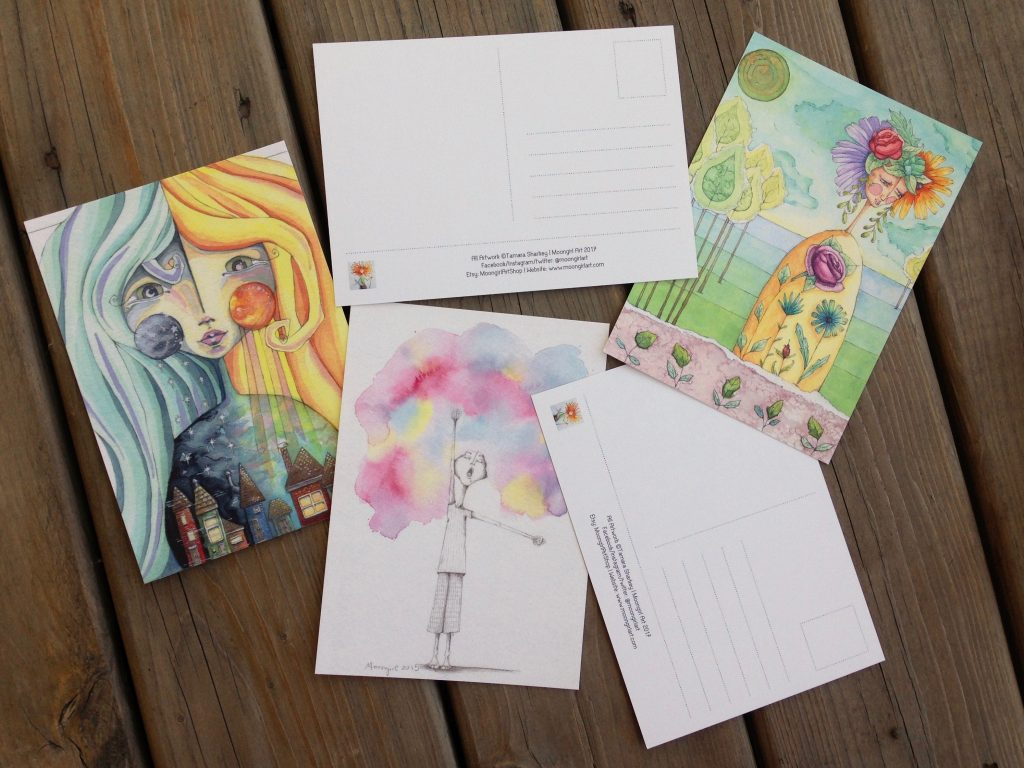 Art Postcards Set 2