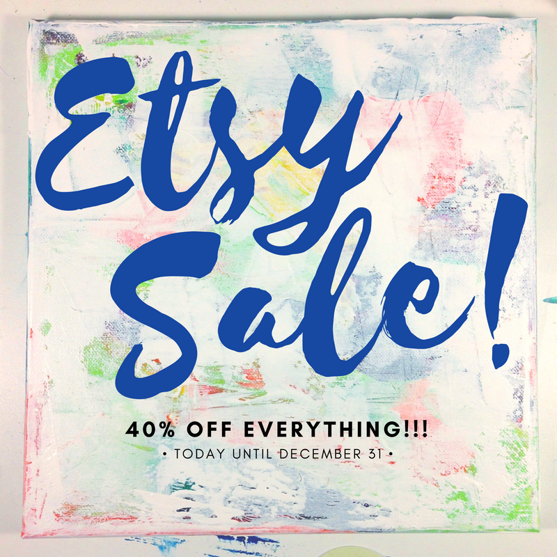 Etsy Sale!!