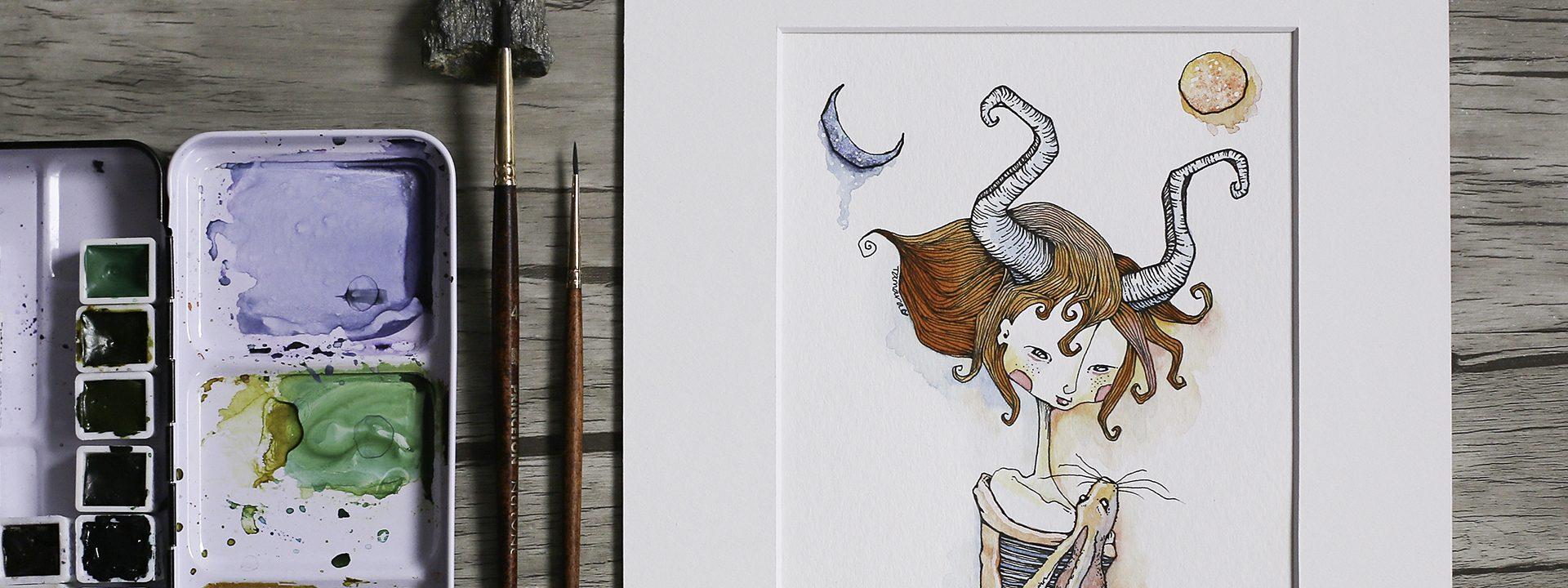 Moongirl Art